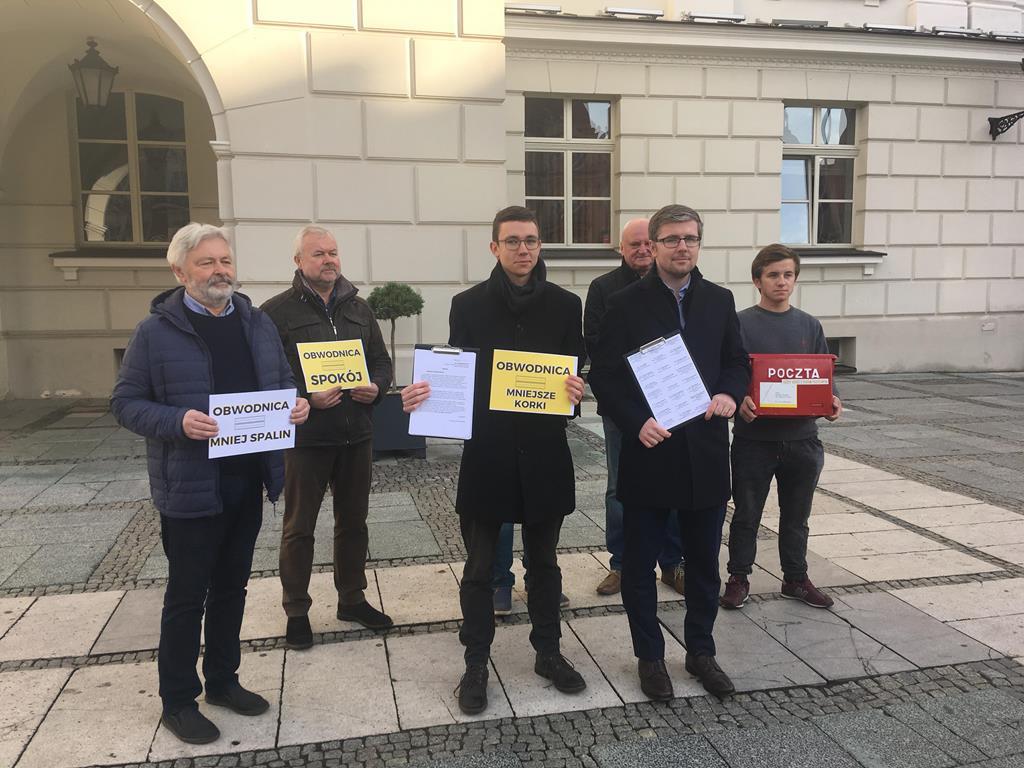 obwodnica kalisza wysyłają listy - Danuta Synkiewicz
