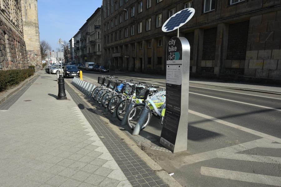 rower miejski - Wojtek Wardejn