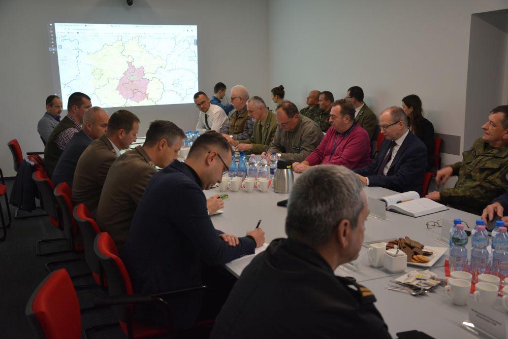 ASF sztab kryzysowy 1 - WUW Poznań