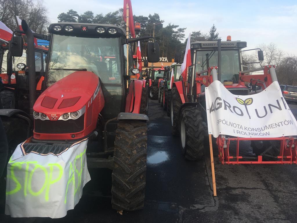 rolnicze protesty agrounia - Rafał Regulski