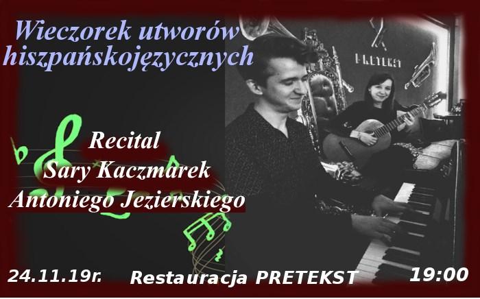 "Koncert dla ""casa hogar de Papa Francisco"" - Restauracja Pretekst"