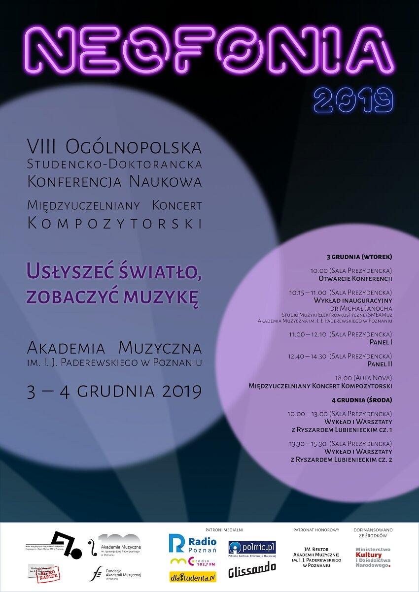 neofonia_2019_plakat - Materiały prasowe