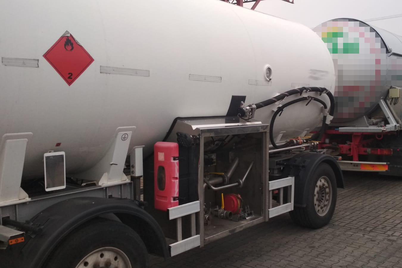 Rozbicie zorganizowanej grupy przestępczej dokonującej zmiany przeznaczenia gazu z grzewczego na napędowy LPG - pk.gov.pl