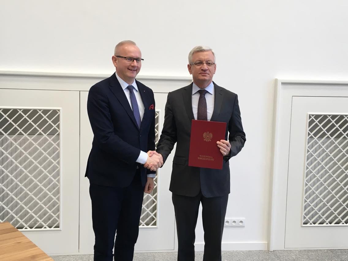 przekazanie płwalni olimpia jacek jaśkowiak i łukasz mikołajczyk  - Jacek Butlewski