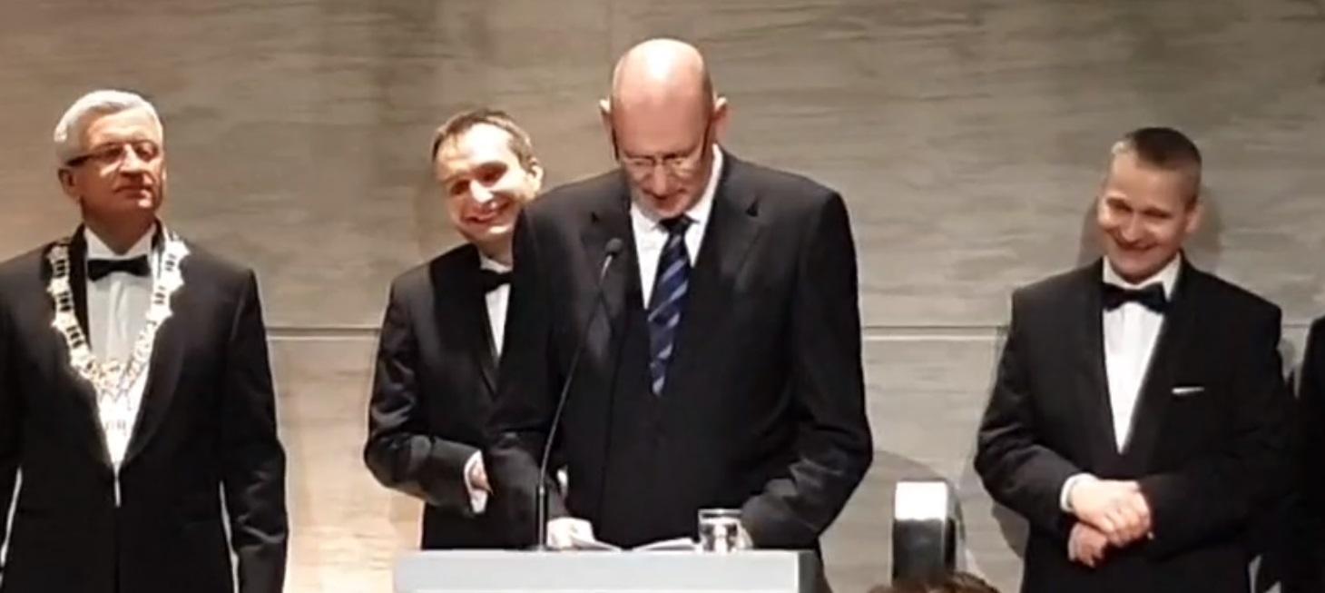 Jens Ocksen laureatem Złotej Pieczęci 2020 - FB UM Pń/live