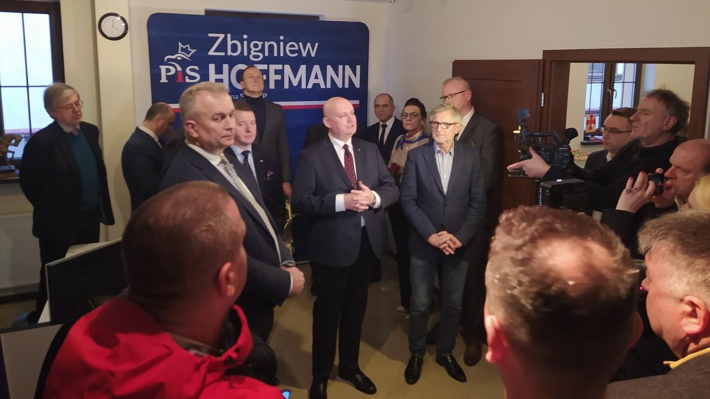 Otwarcie biura Zb Hoffmanna w Koninie  - Sławomir Zasadzki