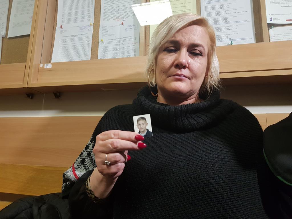 potrącenie 8 letniego jasia rozprawa sąd mama chłopca  - Hubert Jach