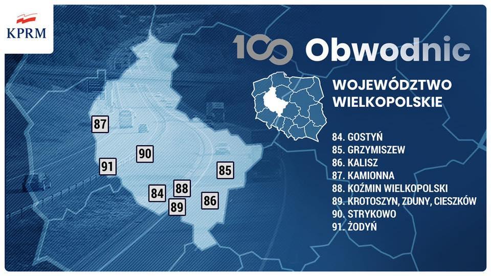 obwodnice wielkopolska 100 obwodnic - KPRM