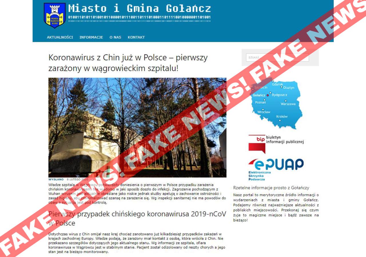 Koronawirus w wągrowieckim szpitalu - golancz.com.pl