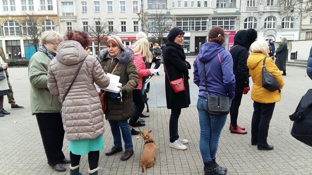 protest LEX Sachajko - Magdalena Konieczna