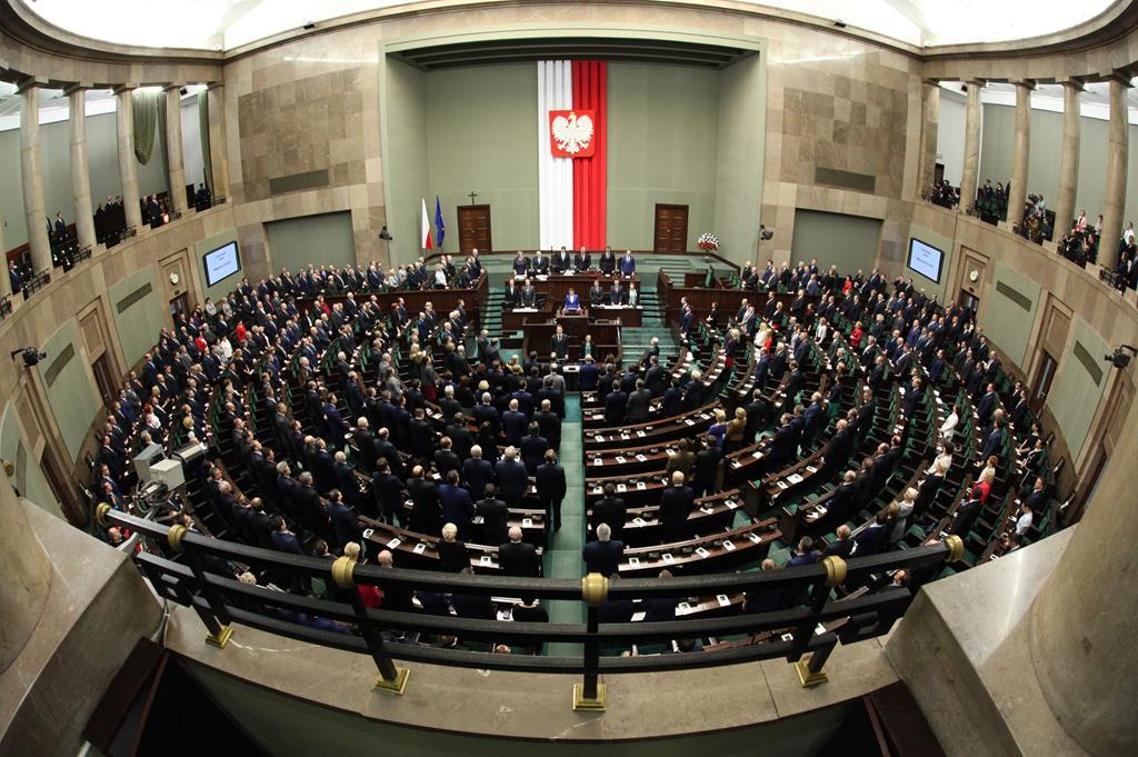 Sala posiedzeń sejm - Kancelaria Senatu Rzeczypospolitej Polskiej