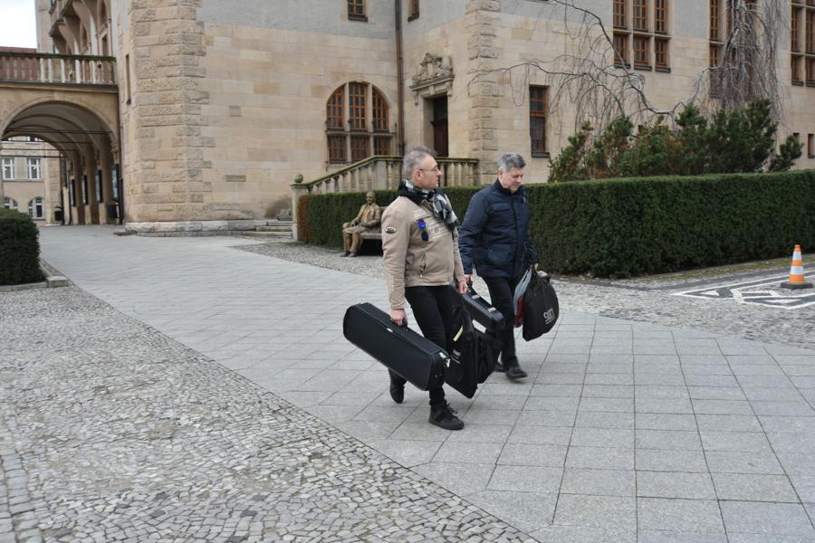 filharmonia wyjazd kompozytorzy na walizkach - Wojtek Wardejn