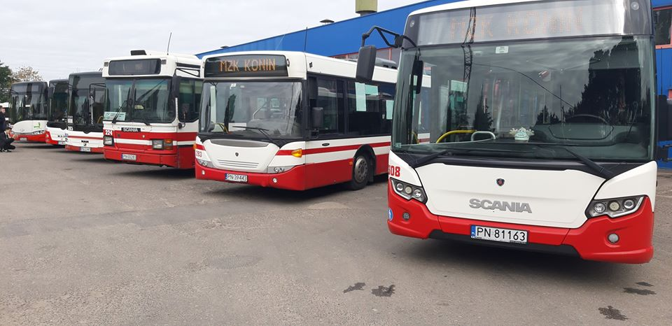 autobus konin mzk - MZK Konin