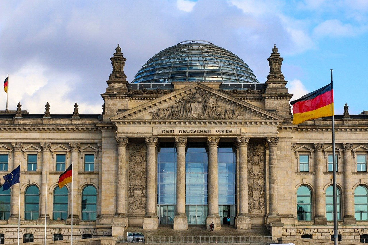 niemiecki parlament bundestag  - Pixabay