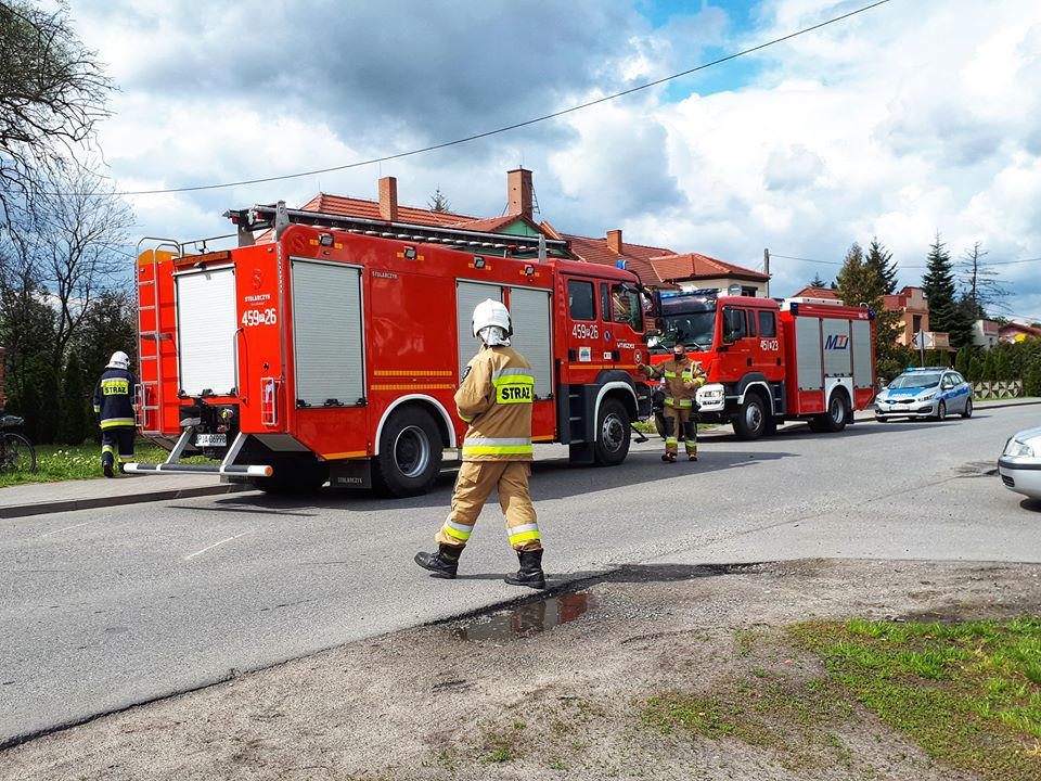 mężczyzna utopił się w zbiorniku retencyjnym witaszyce - OSP KSRG Witaszyce