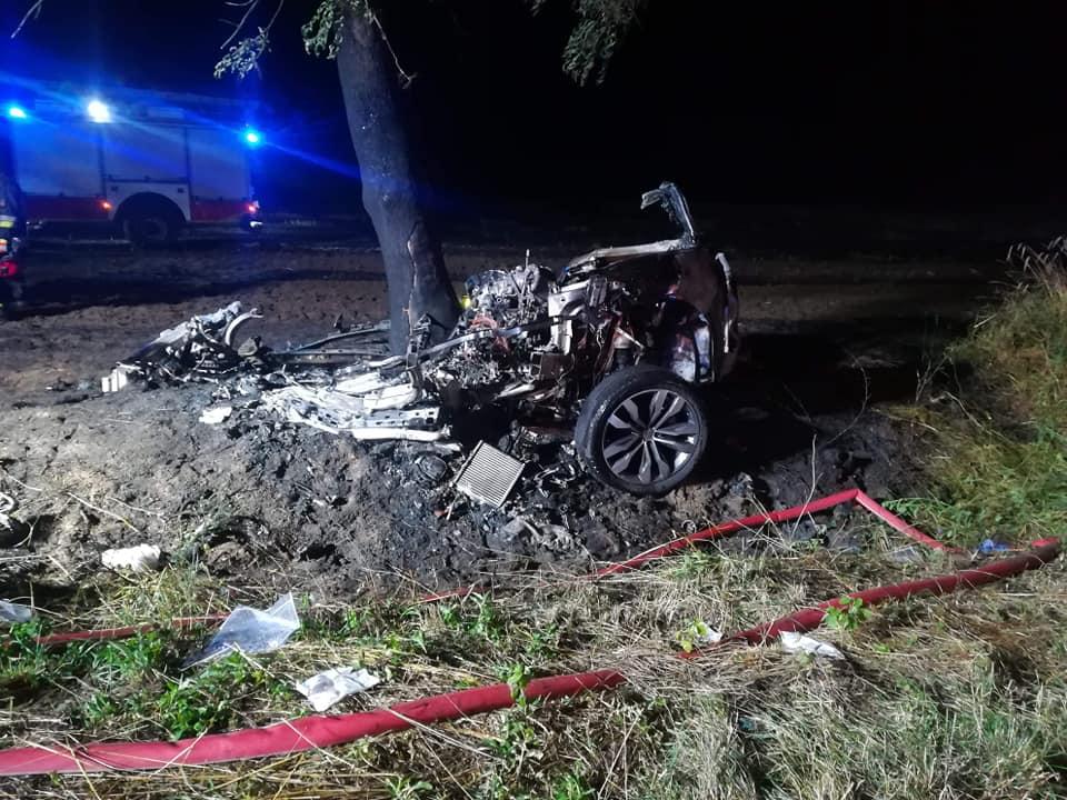 wypadek ryżyn lipiec 2019 - Ochotnicza Straż Pożarna w Chrzypsko Wielkie - OSP KSRG