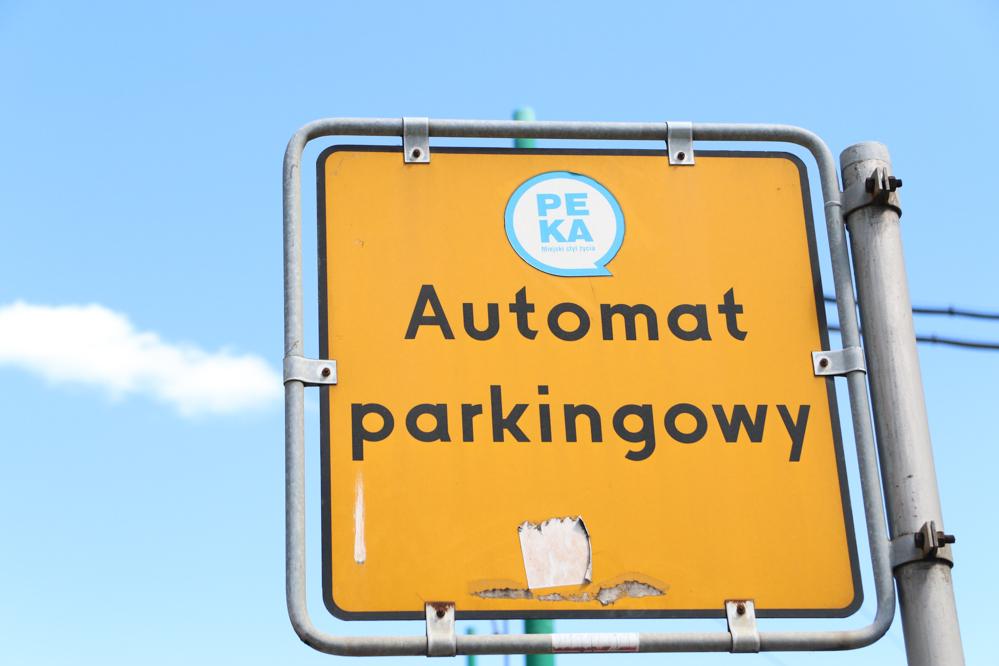 strefa parkowania parkometr  - Leon Bielewicz