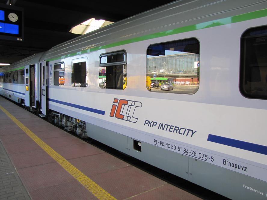 intercity pociąg - Leon Bielewicz