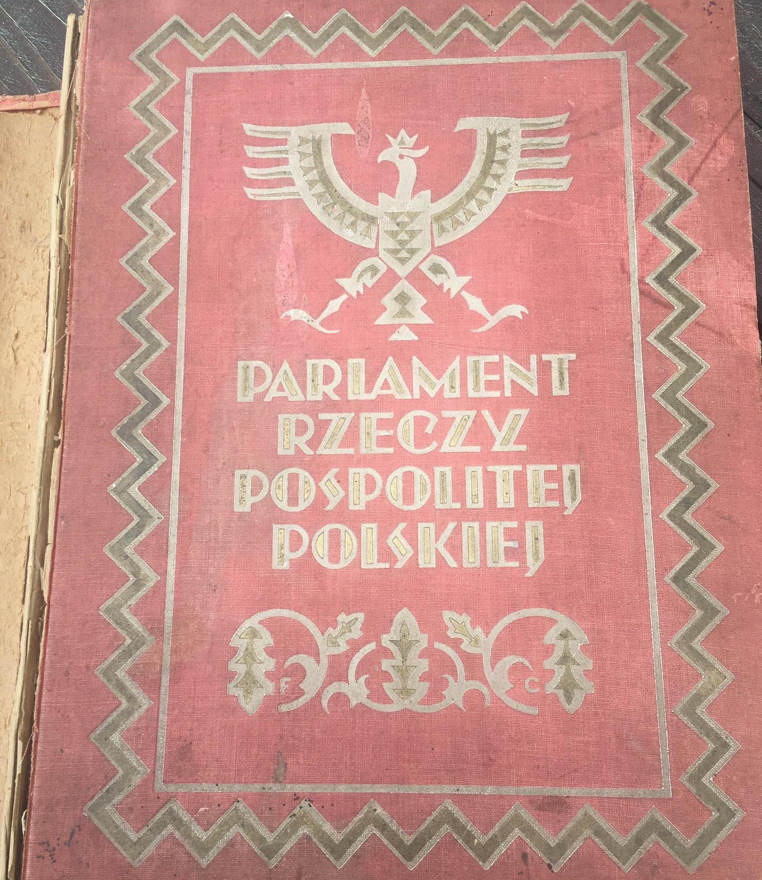 Parlament Rzeczypospolitej Polskiej 1919-1927 - Danuta Synkiewicz