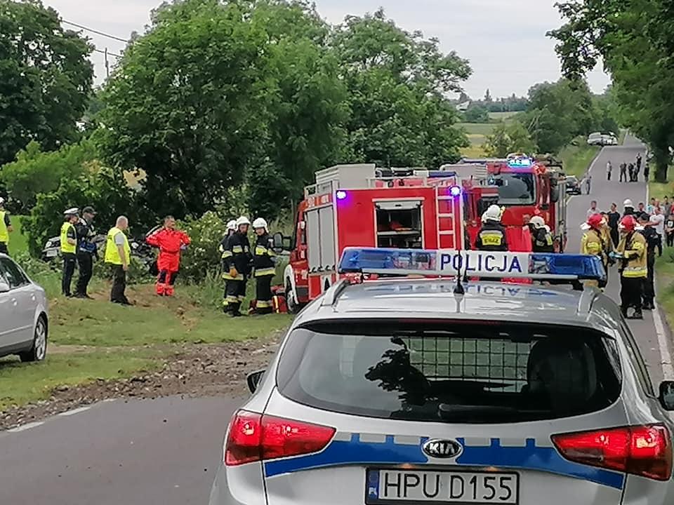 wypadek Grobia - KPP Międzychód