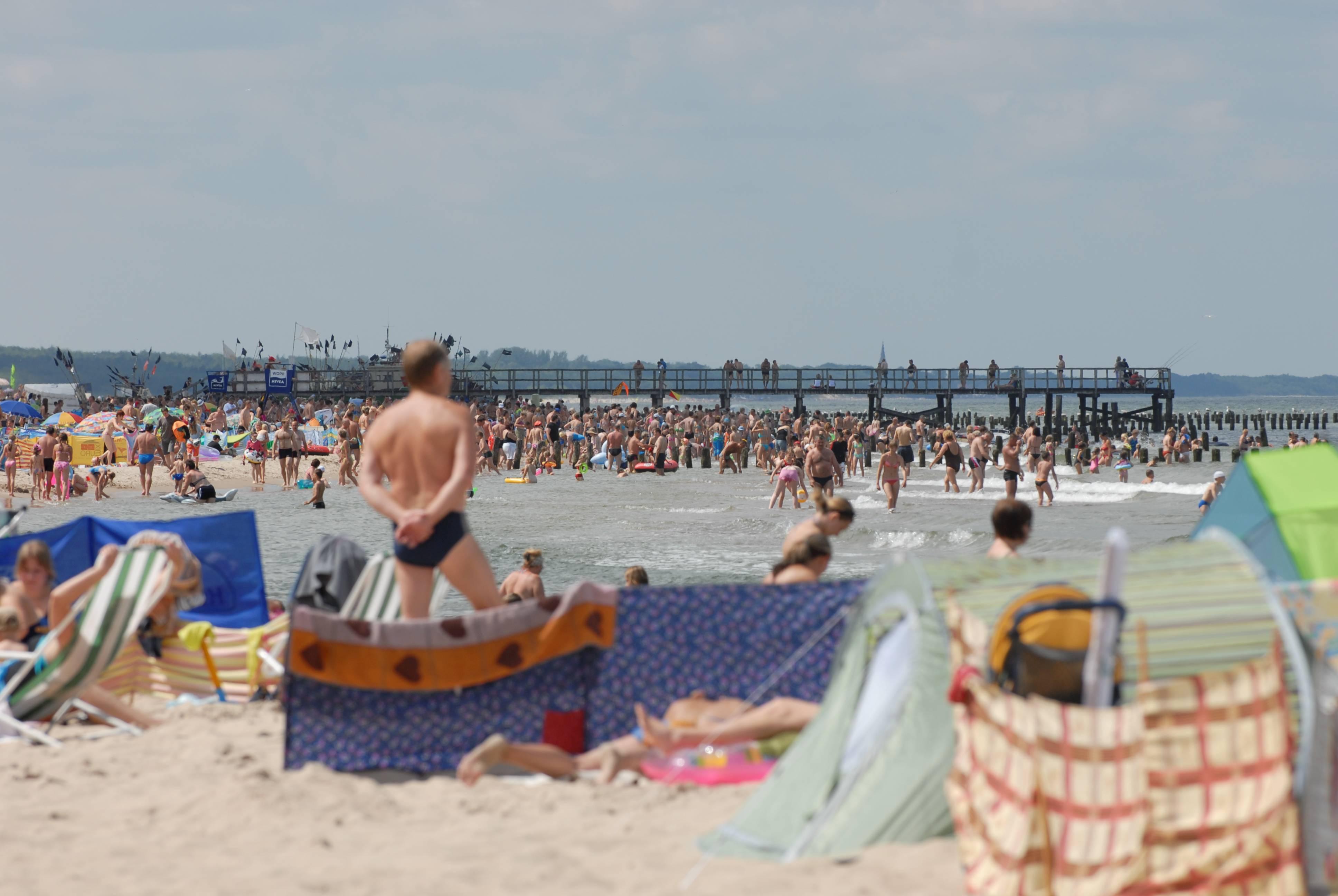 morze wakacje wypoczynek - Wojtek Wardejn