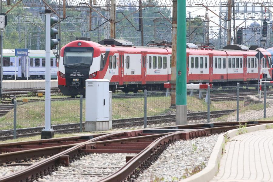 pociąg pociągi kolej koleje wielkopolskie - Leon Bielewicz - Radio Poznań