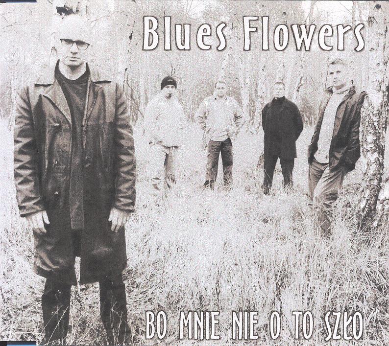 blues flowers - Okładka