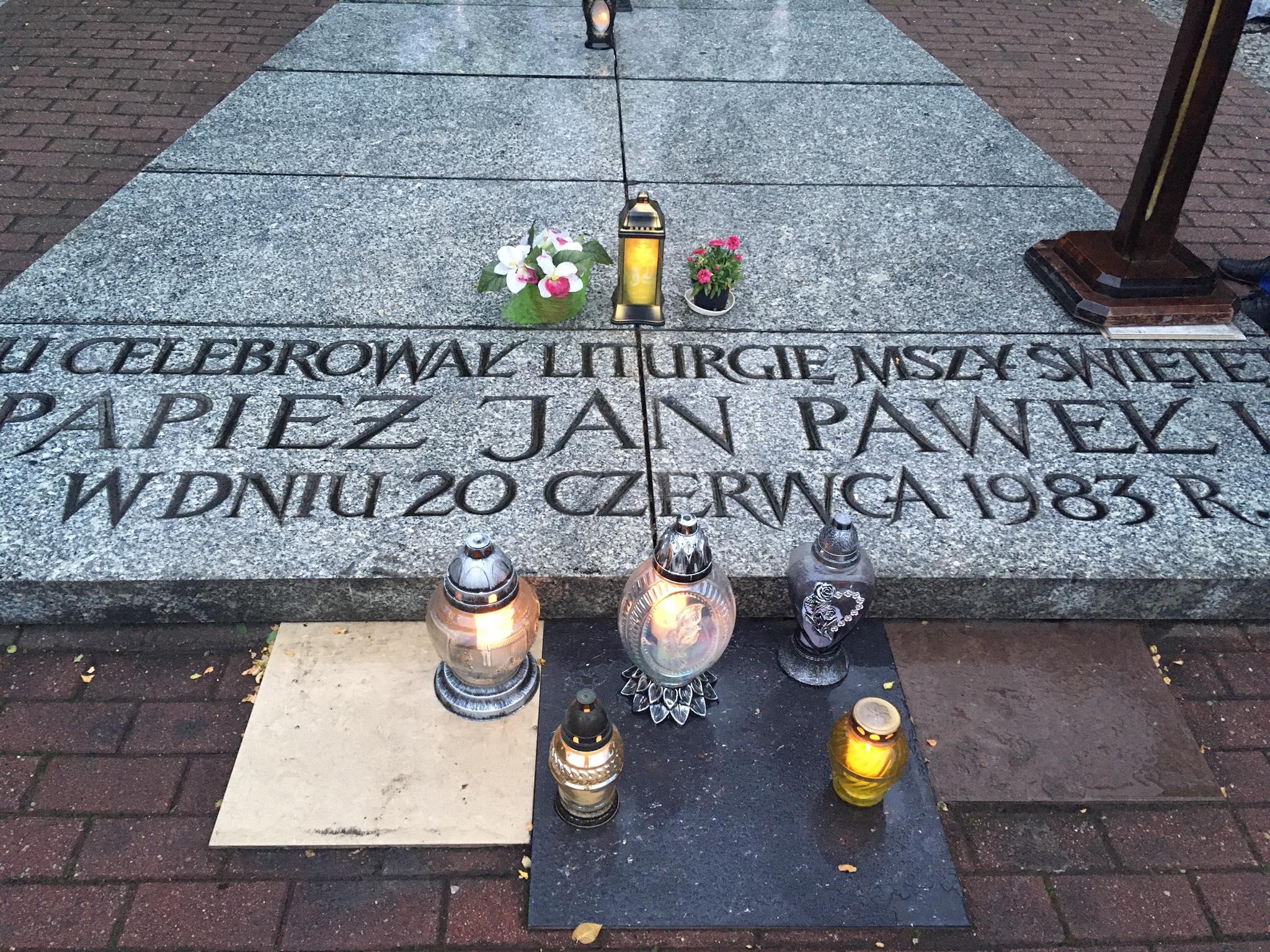 Uczcili 37. rocznicę papieskiej mszy świętej w Poznaniu łegi dębińskie - Jacek Butlewski