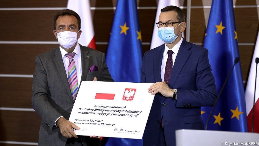 premier czek na szpital kliniczny poznań - KPRM