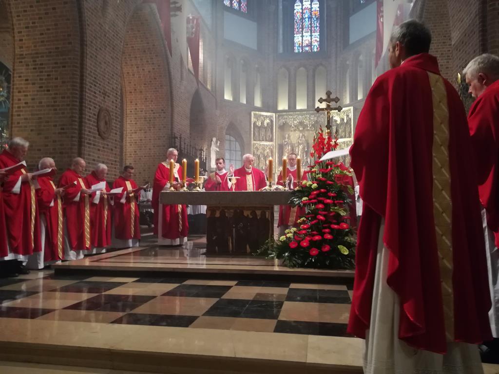 Imieniny patronów miasta w katedrze poznańskiej - Sandra Soluk