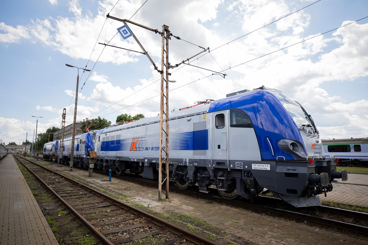 griffin lokomotywa pociąg interncity - PKP Intercity