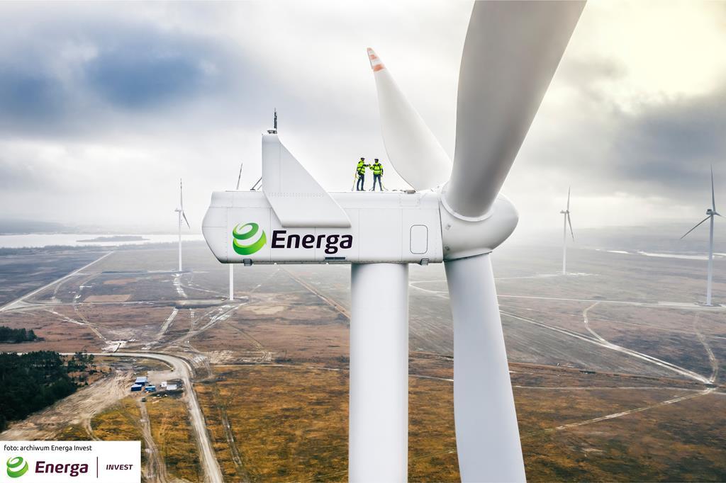 Nowa farma wiatrowa w Wielkopolsc przykona - Energa Invest