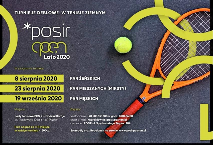 plakat POSiR OPEN - Materiały prasowe