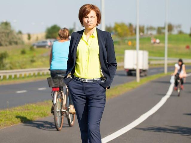 Burmistrz Lubonia Małgorzata Machalska  - Burmistrz Lubonia Małgorzata Machalska i Forum Obywatelskie Luboń