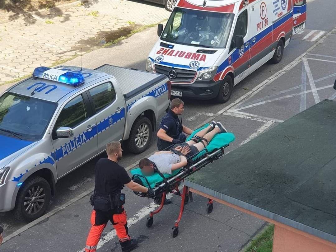 Agresywny mężczyzna zaatakował rodzinę z 9-letnim dzieckiem - Wielkopolska Policja