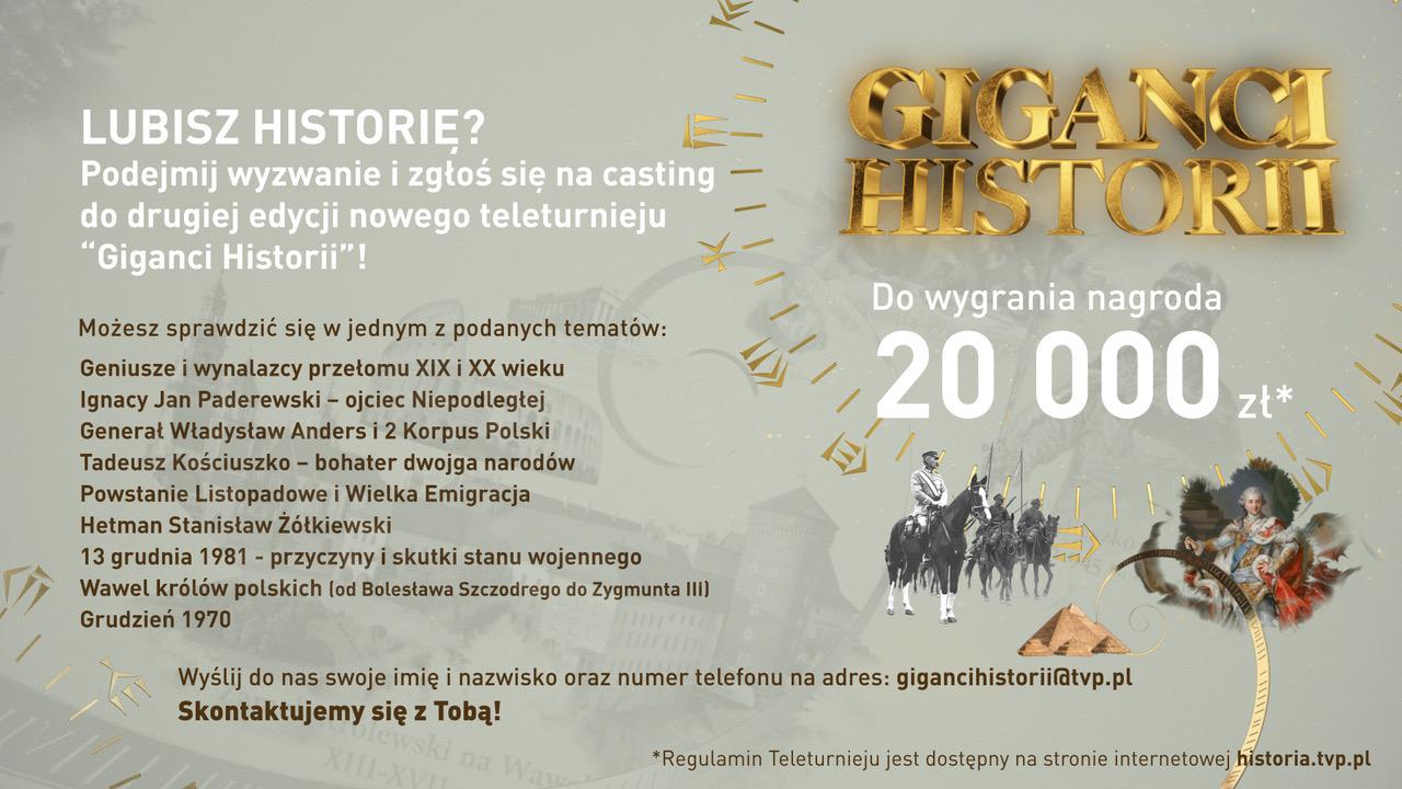 giganci historii