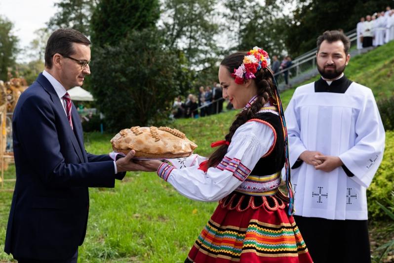 Mateusz Morawiecki dożynki - KPRM