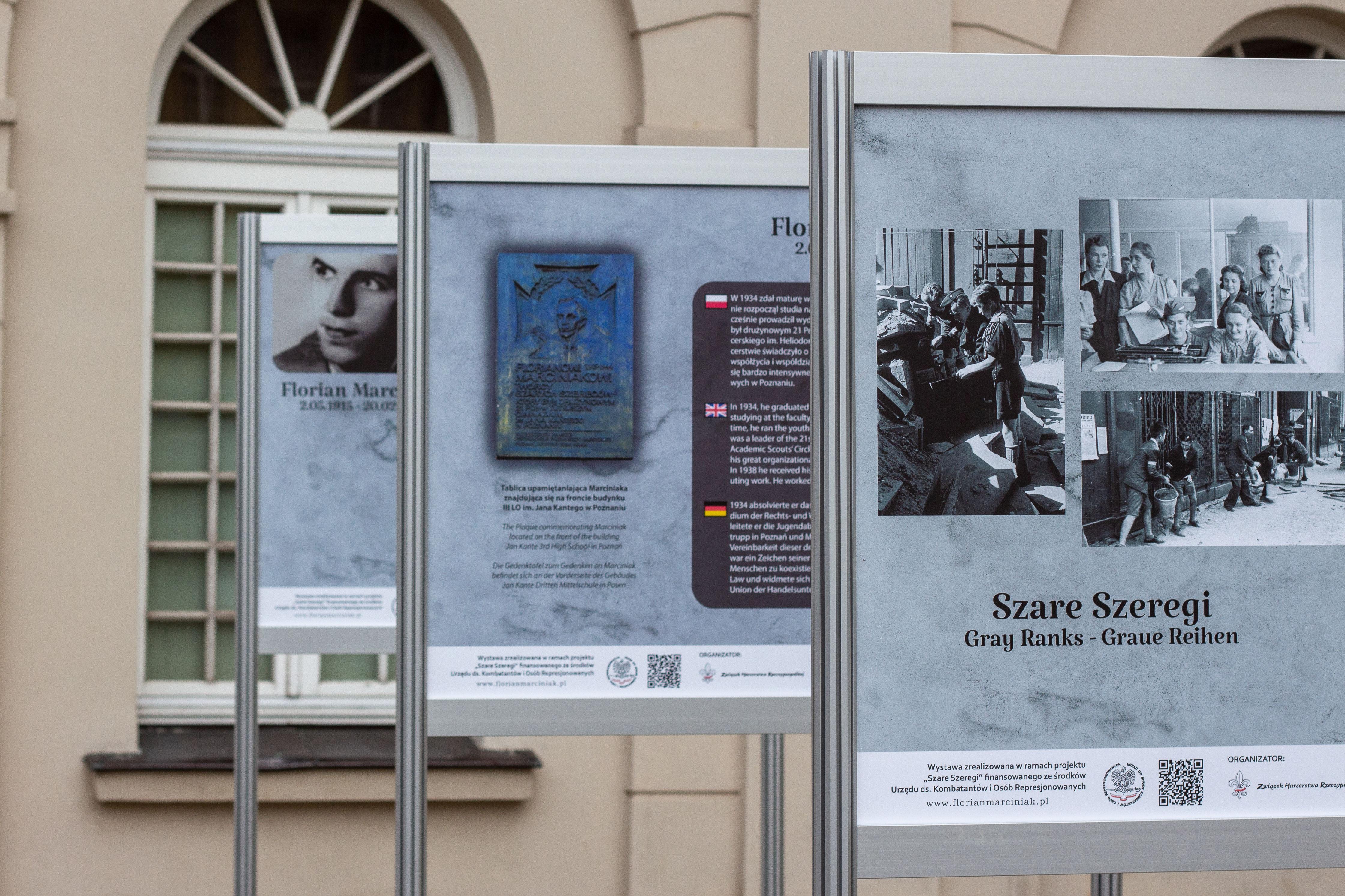 szare szeregi wystawa - ZHR Wielkopolska