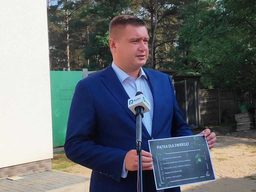 marcin porzucek piątka dla zwierząt kaczyńskiego - Przemysław Stochaj
