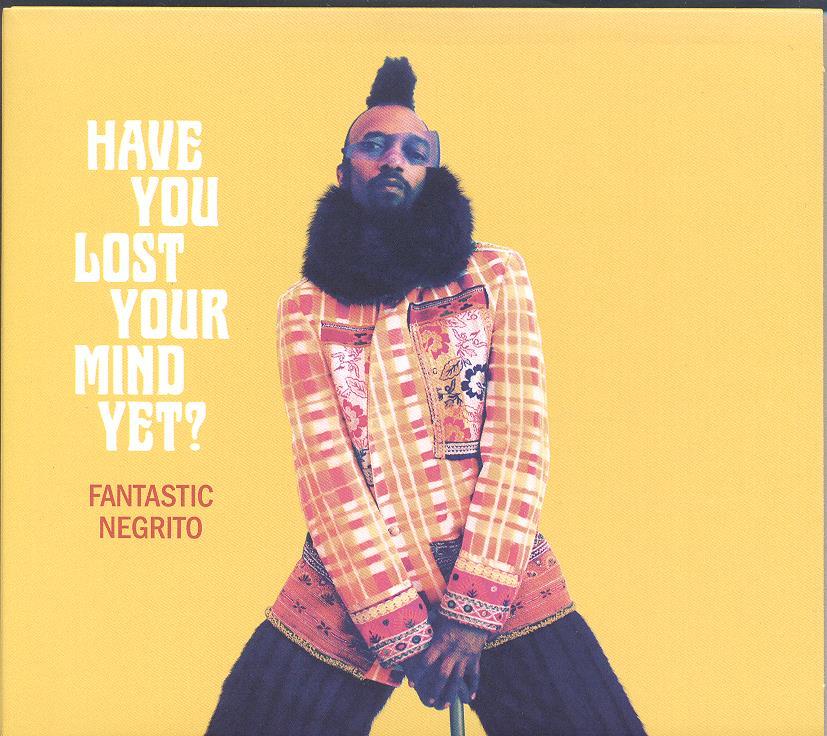 fantastic negrito gloger - Okładka albumu