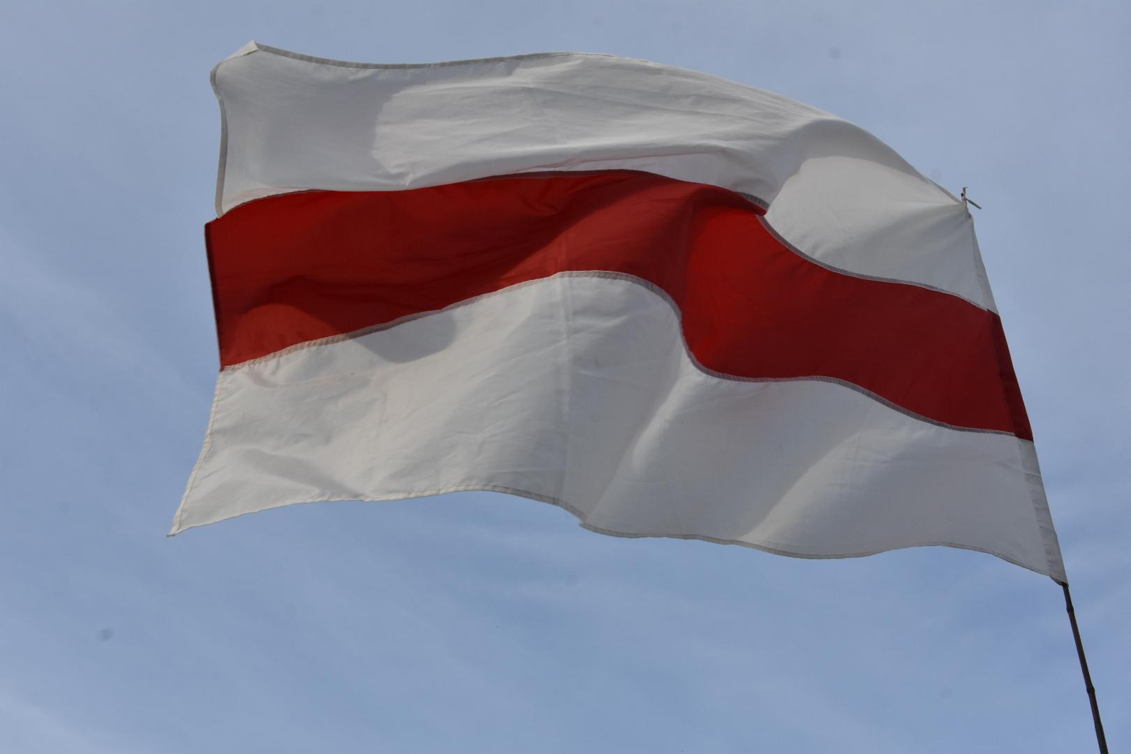 protest białoruś poznań - Wojtek Warden