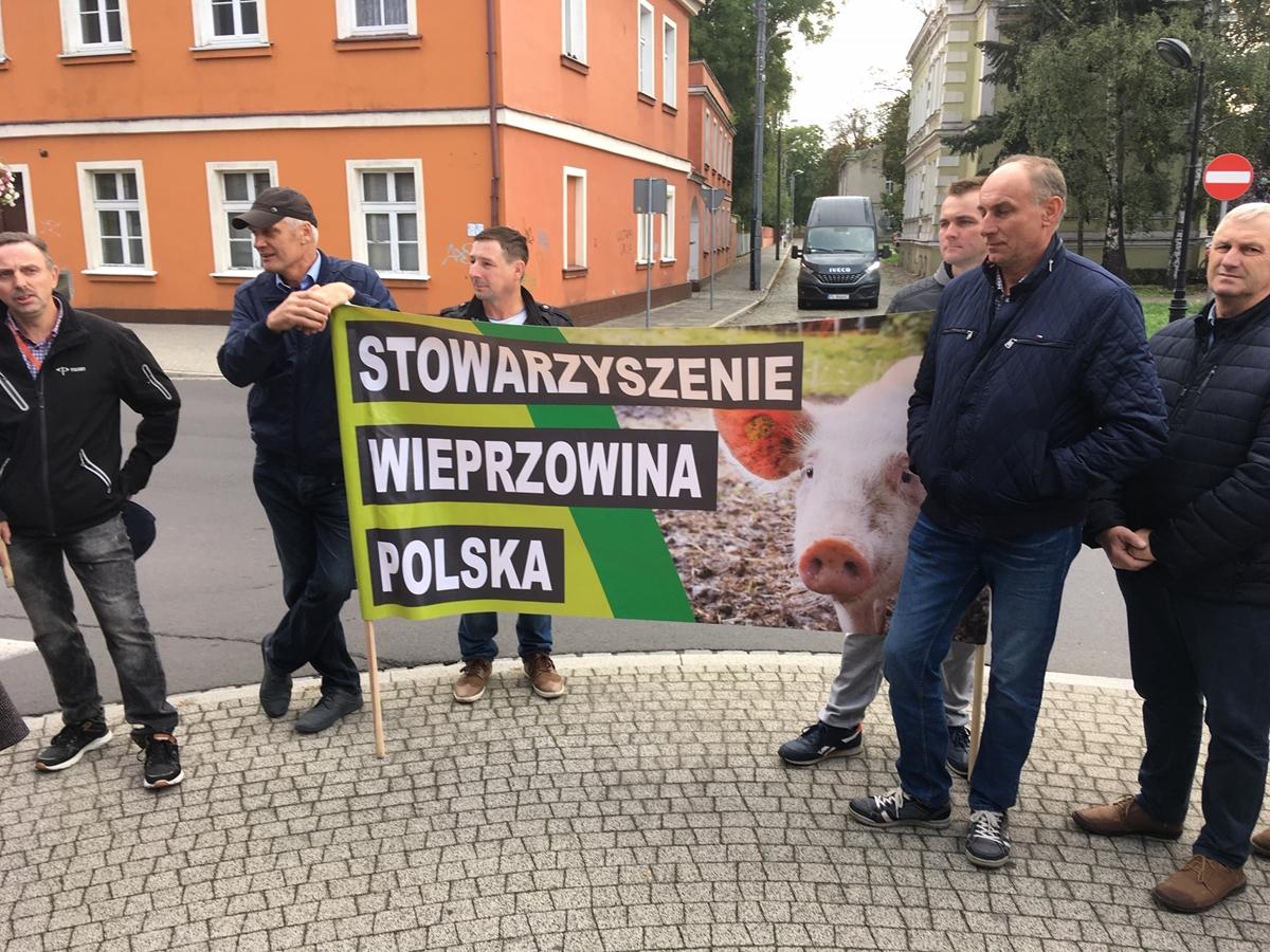 protest rolnikow leszno - Jacek Marciniak - Radio Poznań