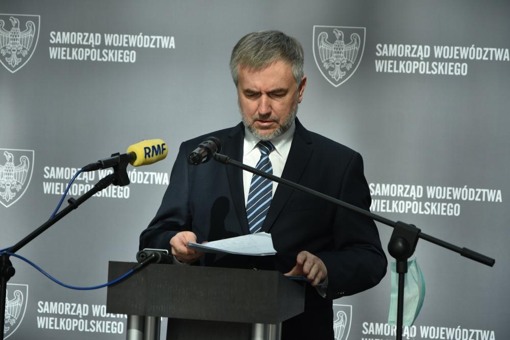 marszałek marek woźniak o warp - Wojtek Wardejn