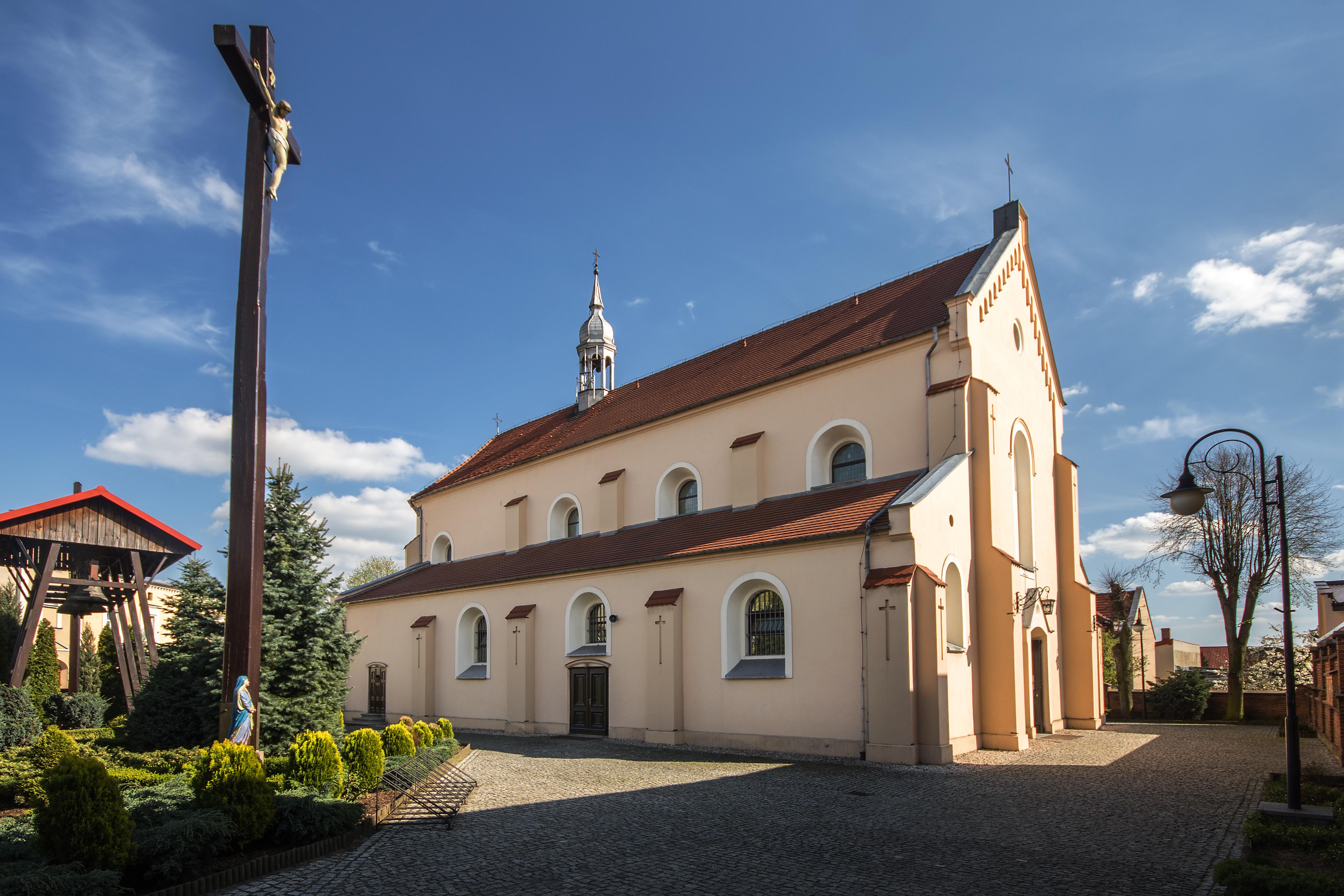 Kościół w Grabowie nad Prosną w powiecie ostrzeszowskim - Wikipedia/Sławomir Milejski