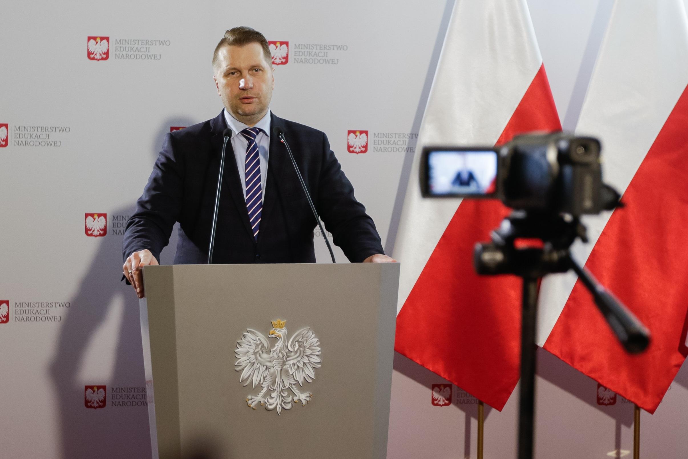 przemysław czarnek men - Ministerstwo Edukacji Narodowej