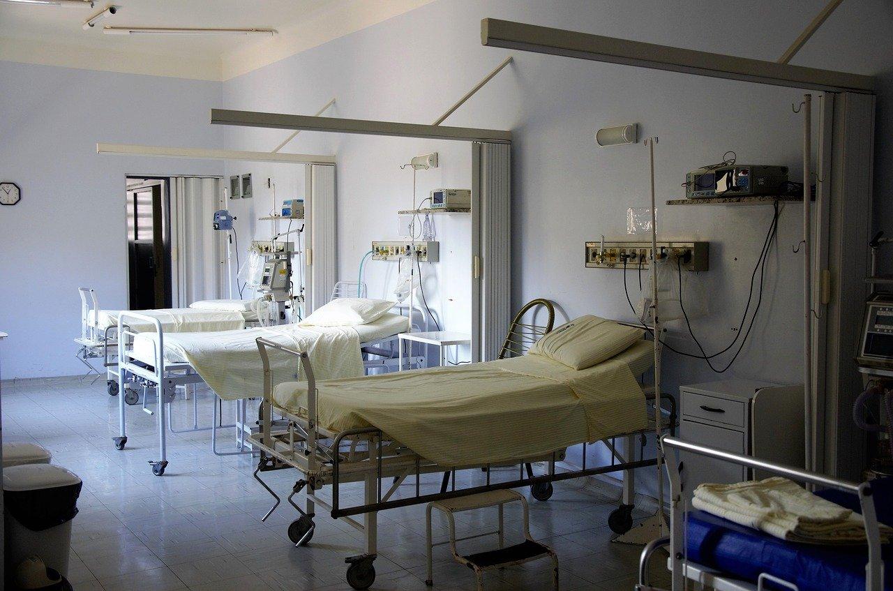 szpital łóżko - Pixabay