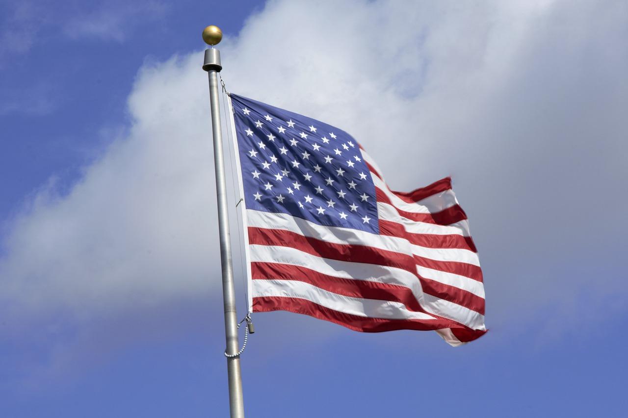 flaga usa stany zjednoczone - Pixabay
