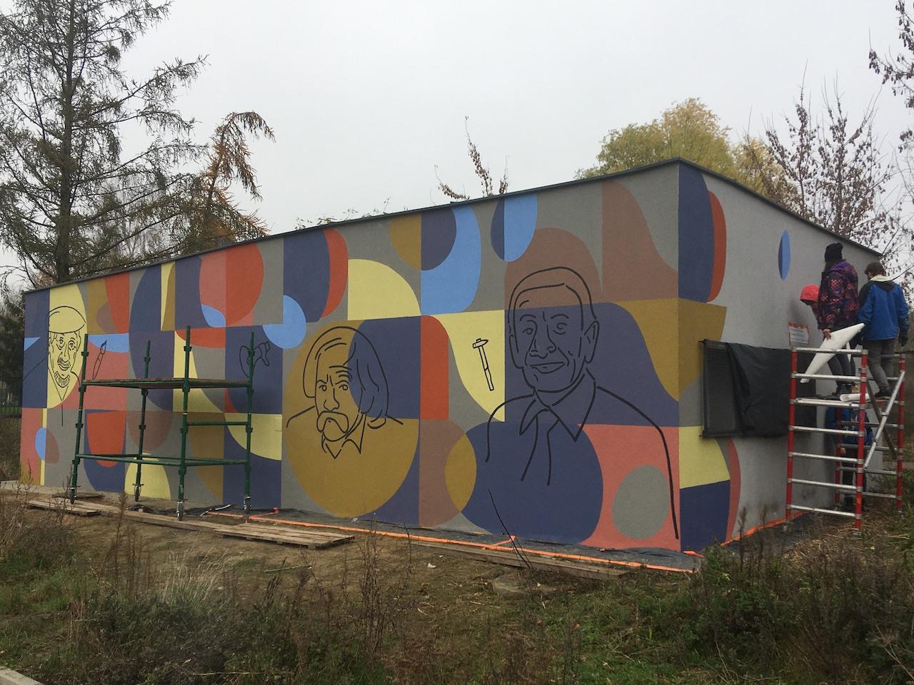 mural smoleń słodowy gniezno - Rafał Muniak - Radio Poznań