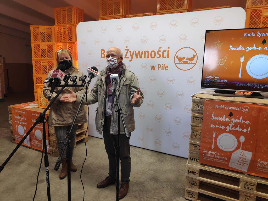 zbiórka dla najuboższych piła - Przemysław Stochaj