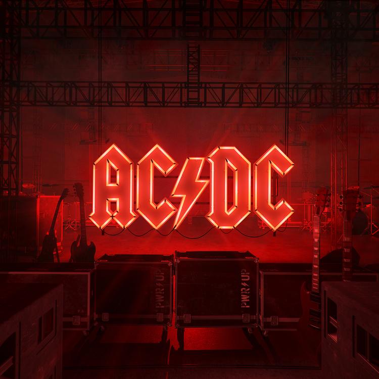 ac dc power up  - Okładka